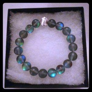 Jewelry - Dark Gray Moonstone Bracelet